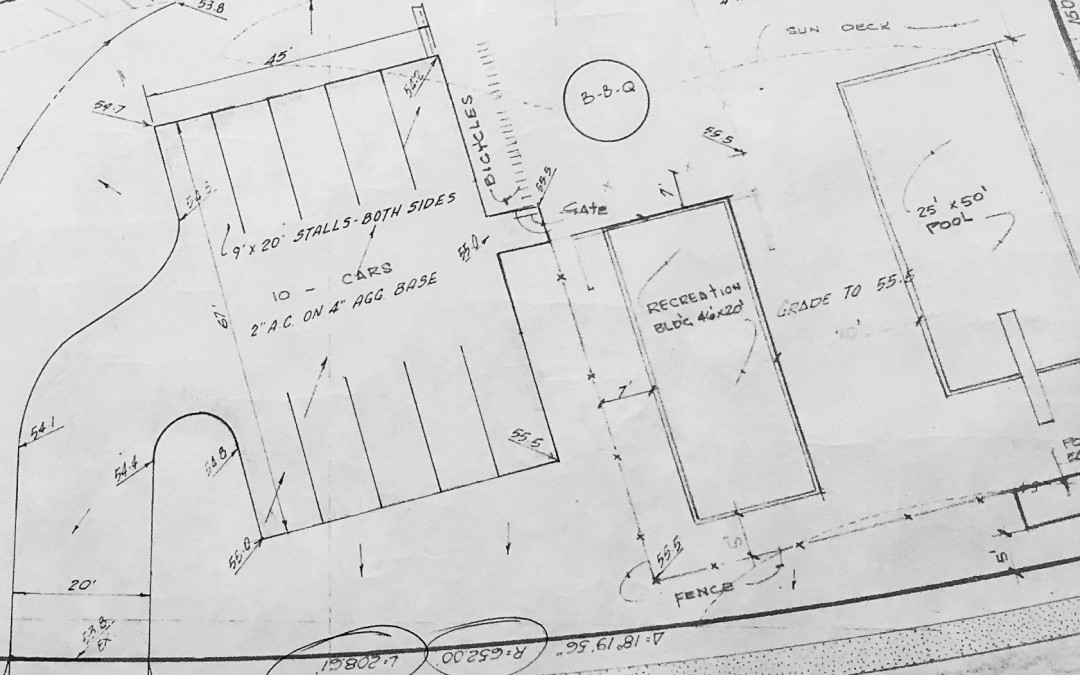 Old elevation drawings