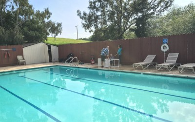 The pool is open for 2016!